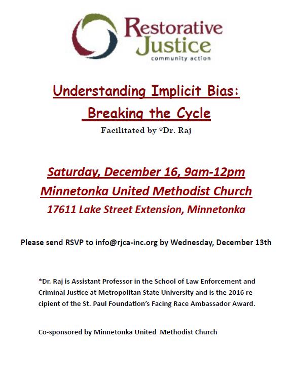 december implcit bias training