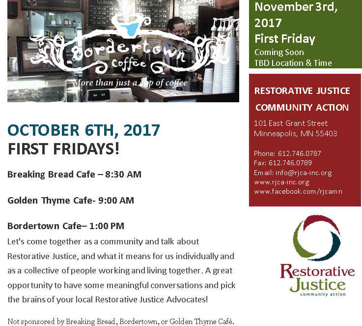 october 2017 first friday